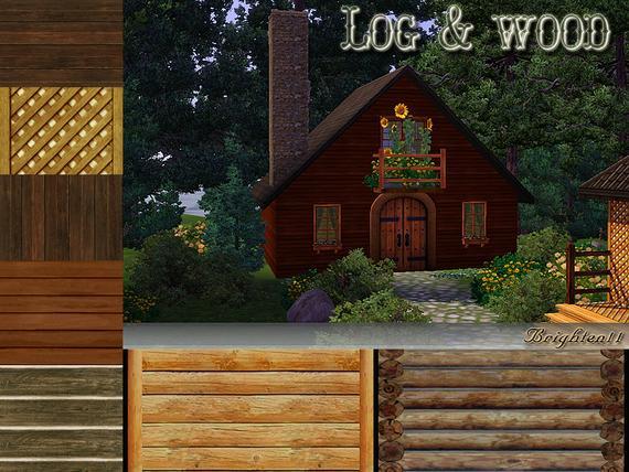 Log and Wood от Brighten11