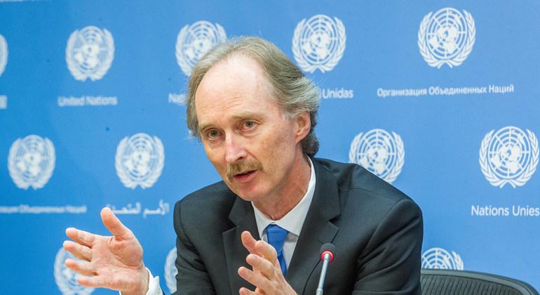 В Москву пригласили нового спецпосланника ООН по Сирии
