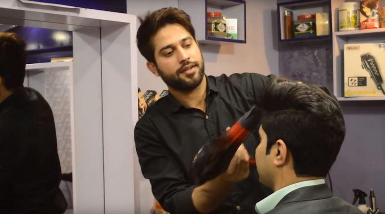 Уникальный парикмахер Пакист…