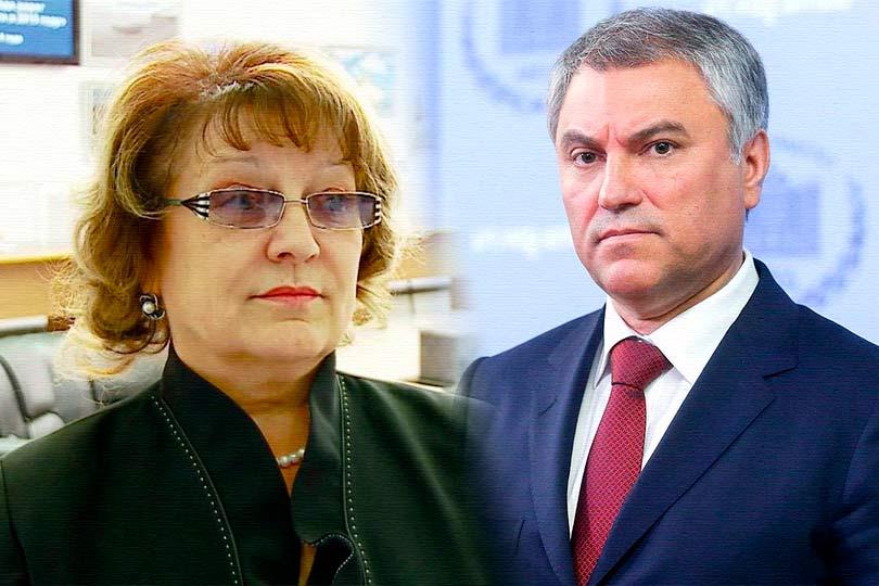 Пикировка Володина и Алимово…