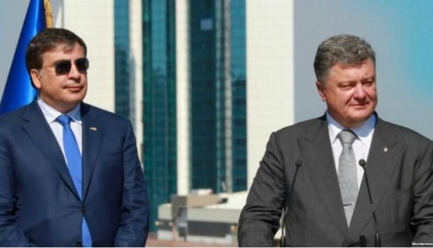 Михаил Саакашвили: Порошенко…