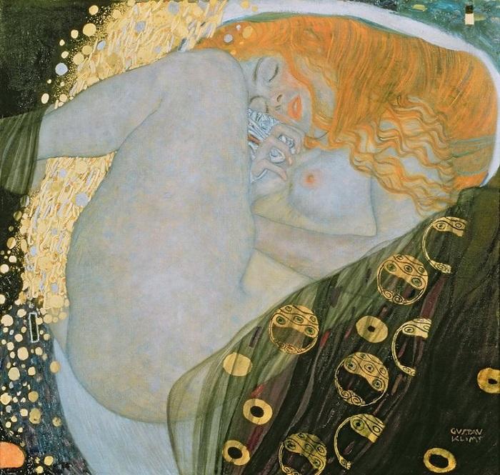 «Даная». Густав Климт. | Фото: mymodernmet.