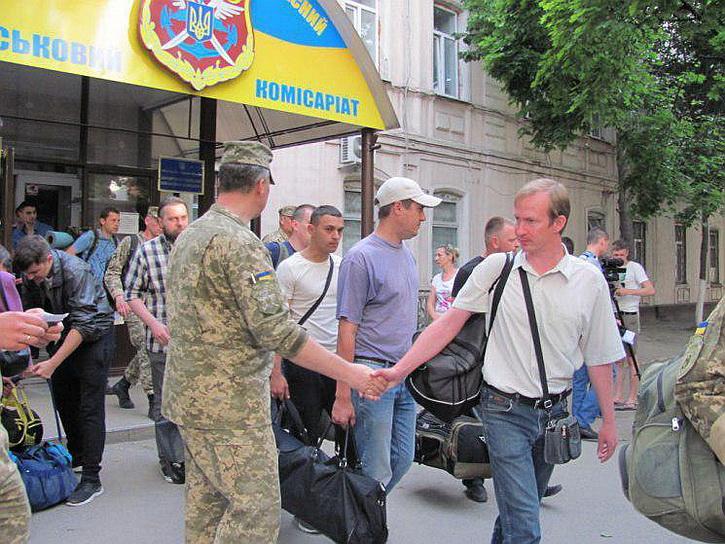 Харьков: Мобилизации нет, а она есть