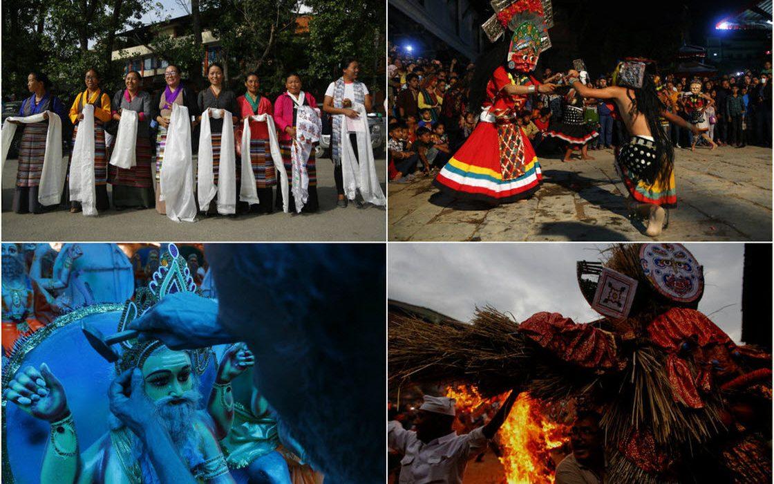 Интересные фотографии из Непала