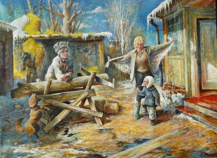 художник Владимир Березин картины – 01