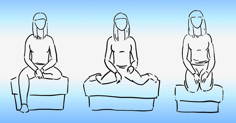 О чём говорит твоя привычная поза при сидении? Сердечно-сосудистые хирурги предостерегают.