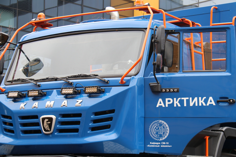 Экологичный «КАМАЗ-Арктика» заинтересовал представителей Минобороны