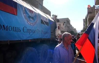 Шойгу призвал Красный Крест нарастить объем гуманитарной помощи Сирии