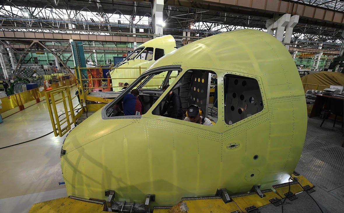 «Сухой» начал разработку грузового SSJ-100