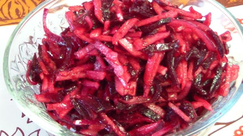 салат из сырой свеклы для похудения