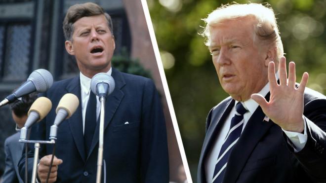 Трамп откроет секретные материалы о гибели Кеннеди