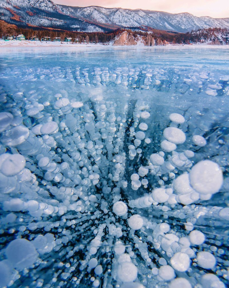 Неземная красота Байкала в фотографиях Кристины Макеевой