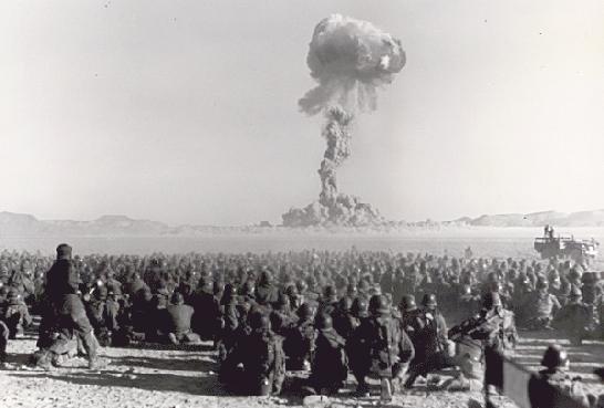 Учения с применением ядерного оружия   14 сентября 1954 года в СССР прошли учения с применением ядерного оружия