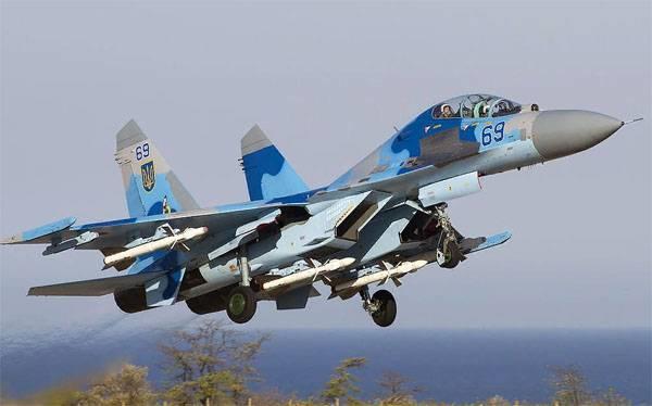 Так что делал американский лётчик в кабине Су-27 ВВС Украины?