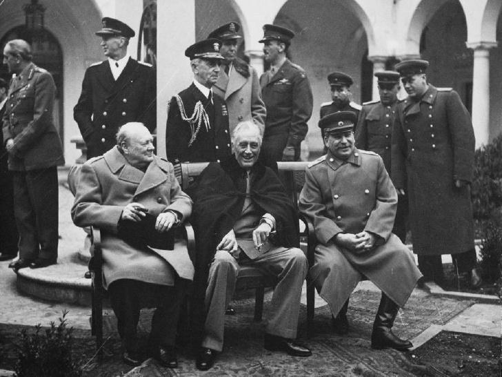 Неизвестные факты о Ялтинской Конференции .