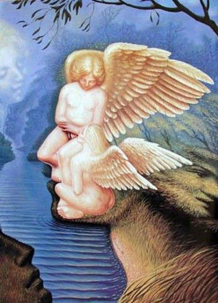 Картины художника Октавио Окампо 2