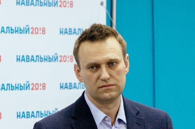 В московский суд поступил административный протокол на Навального