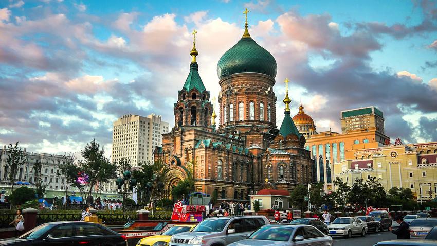 Китайский город с русскими корнями