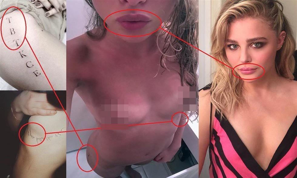 Хакеры слили в сеть интимные фото Хлои Морец