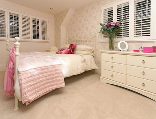 Оформление спальни в винтажном стиле