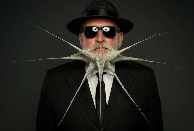 25 лучших участников конкурса на самую оригинальную бороду