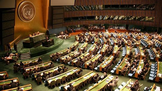 МИДРФ: РезолюцияГА ООН по…
