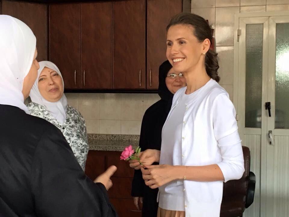 Асме Аль-Асад провели операцию по удалению рака