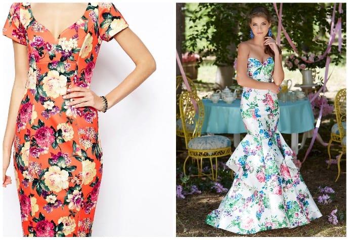 Стильное платье с цветочным принтом — ему все возрасты покорны…