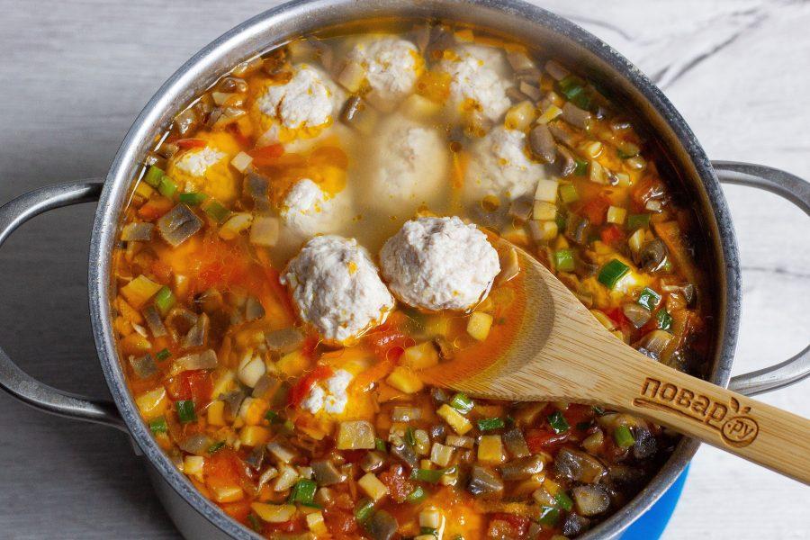 Густой суп с булгуром и фрик…