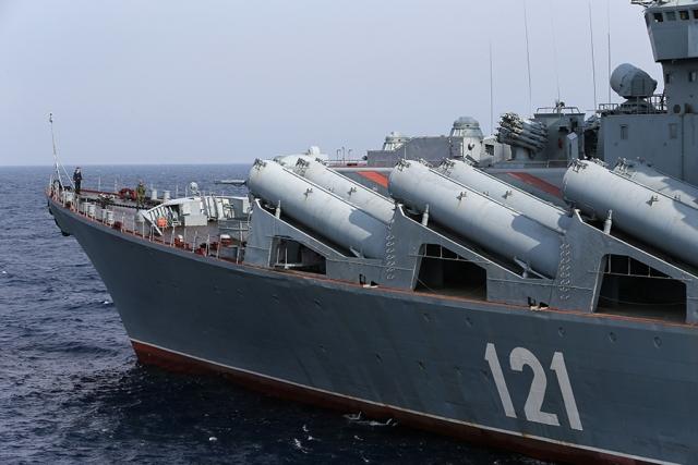 Могерини назвали допустимое число военных кораблей РФ в Азовском море