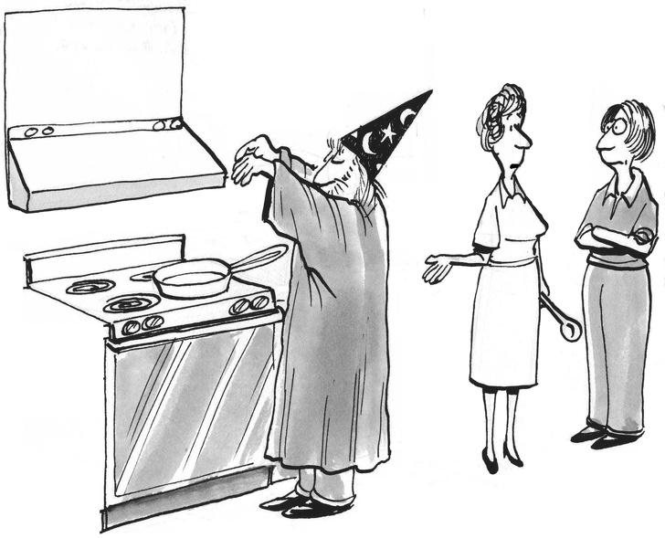 Ироничный рассказ о том, почему муж никогда не должен спорить с женой. Особенно о том, кто лучше готовит