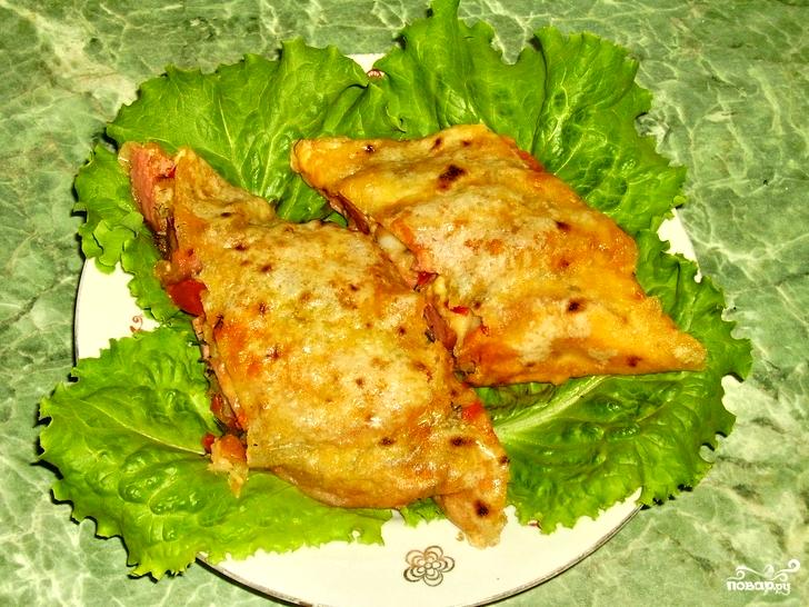 Рыба, запеченная в лаваше - просто и вкусно!
