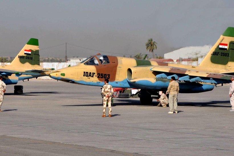 Удар ВВС Ирака уничтожил 30 командиров террористов в Сирии