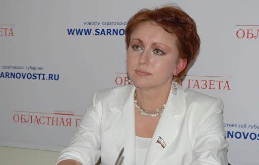 Саратовский экс-министр получала материальную помощь