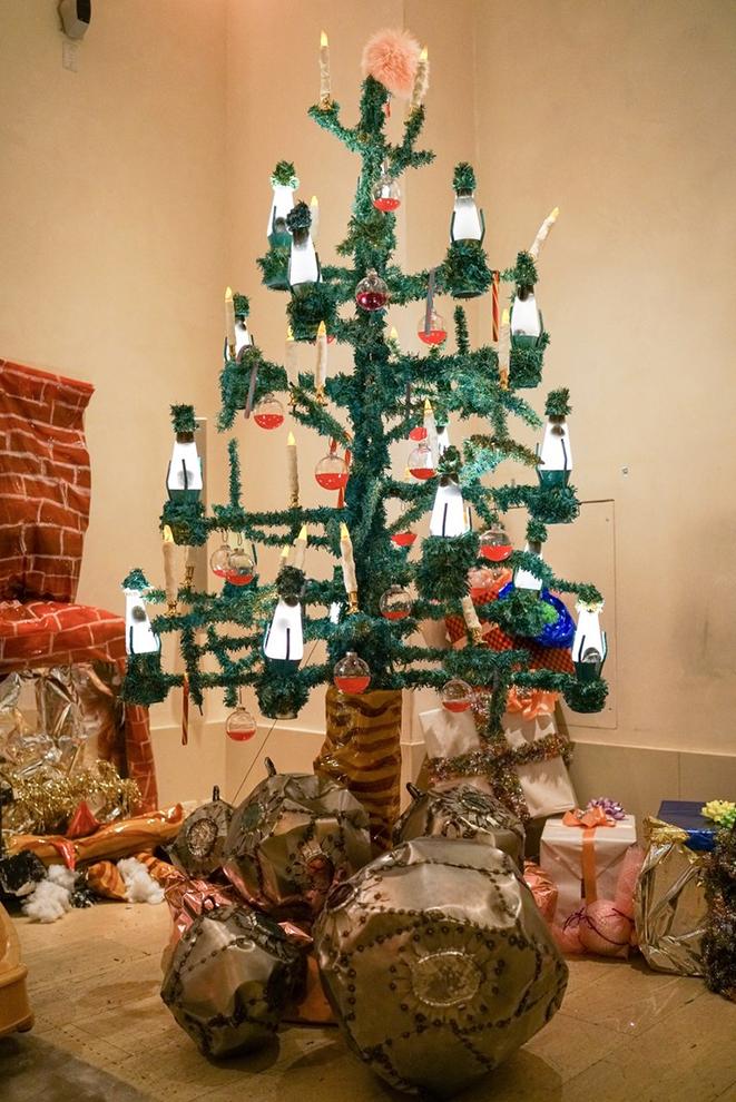Самые красивые новогодние елки в мире