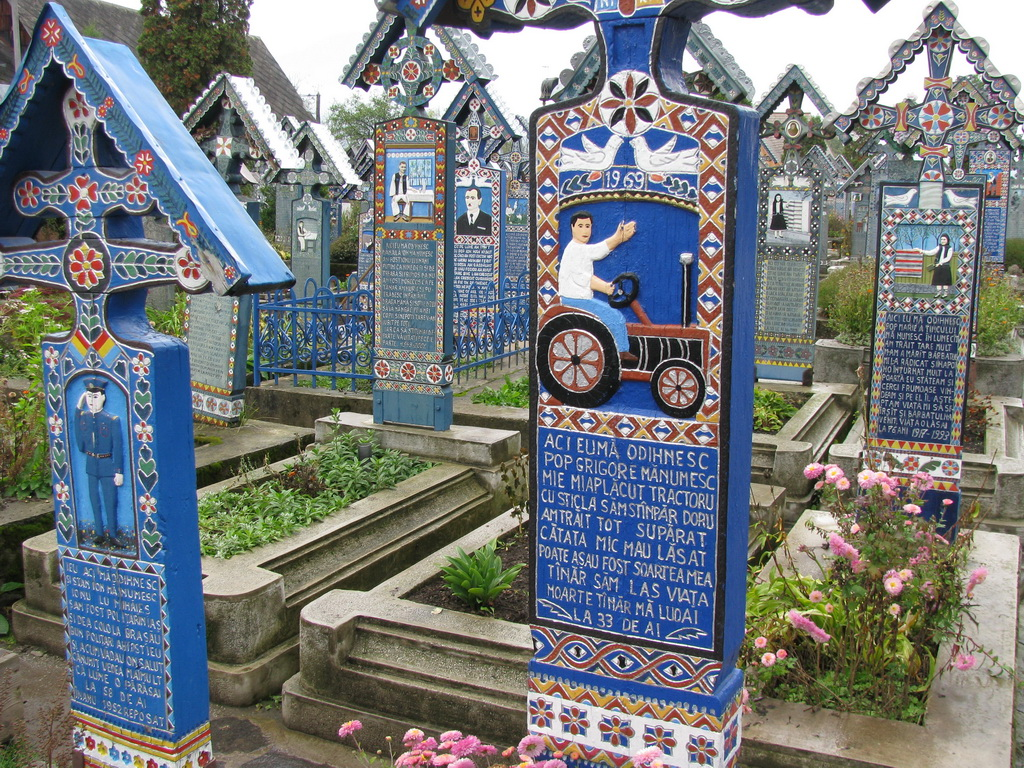 Весёлое кладбище, Румыния