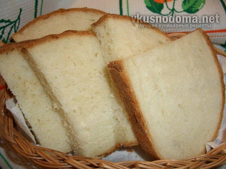 Очень вкусный домашний хлеб из пшеничной муки