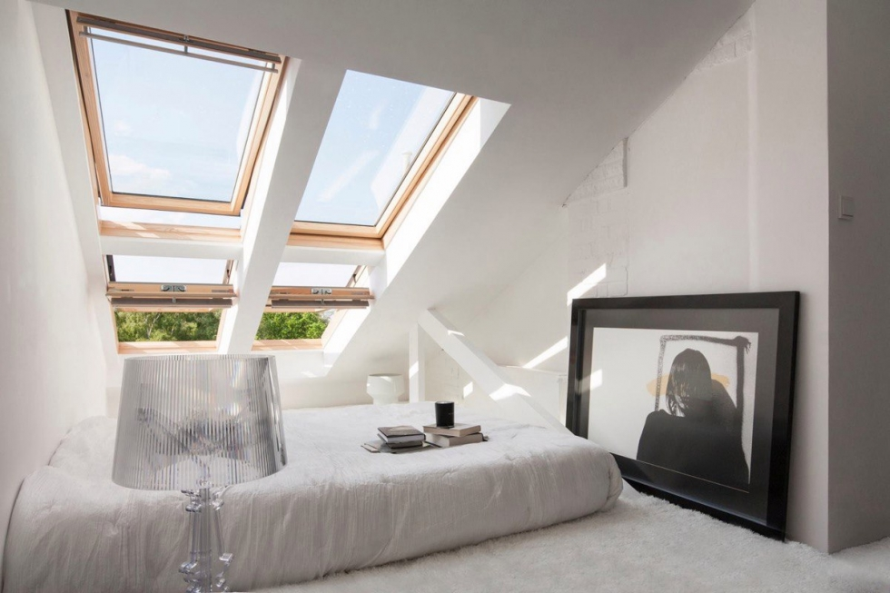 10 мансардных спален