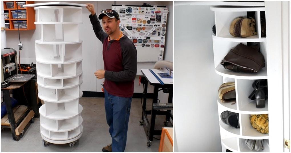 Вся обувь в одном шкафу — реальность с функциональной подставкой