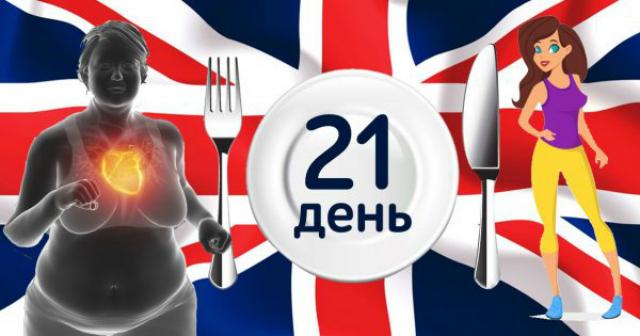 Щадящая английская диета не щадит только лишние килограммы. Трудно первые два дня, а дальше как по маслу…