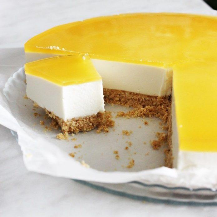 Пошаговый рецепт приготовления торта из творога без выпечки
