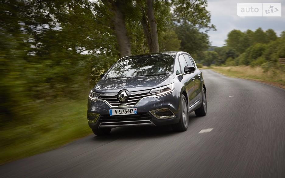 Renault обновила минивэн Espace