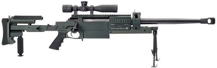 Самые известные крупнокалиберные снайперские винтовки. Часть 5. OM 50 Nemesis