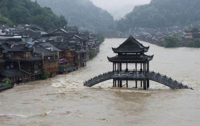 Наводнение в Китае уничтожило подпольный майнинг-центр