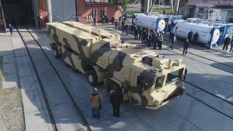 Украинский ОТРК «Гром-2»: см…
