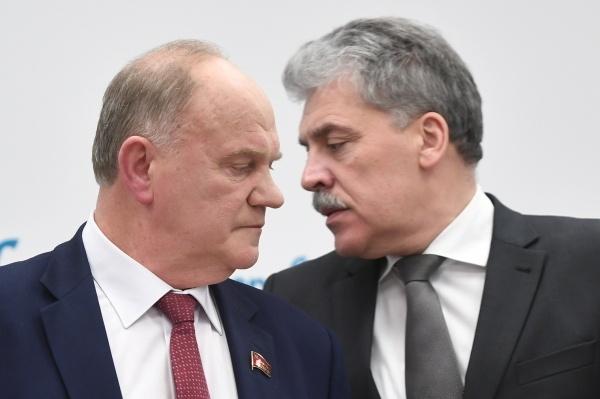 Зюганов не исключает выдвижения Грудинина на губернаторских выборах в Подмосковье