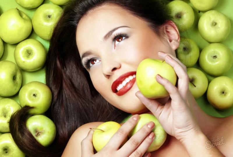 Маски для лица из молодильных яблочек