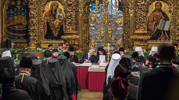 Никто из Православных церквей не прислал поздравления Украине