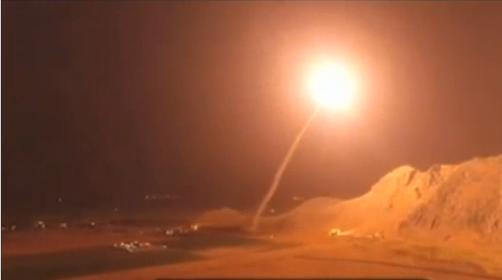 Иран нанес ракетный удар по …