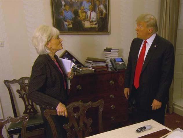 Висящую в Белом доме картину…